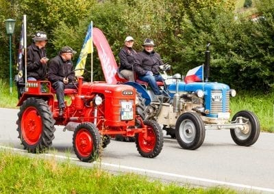 Oldtimer Traktoren | © Apartment Anny